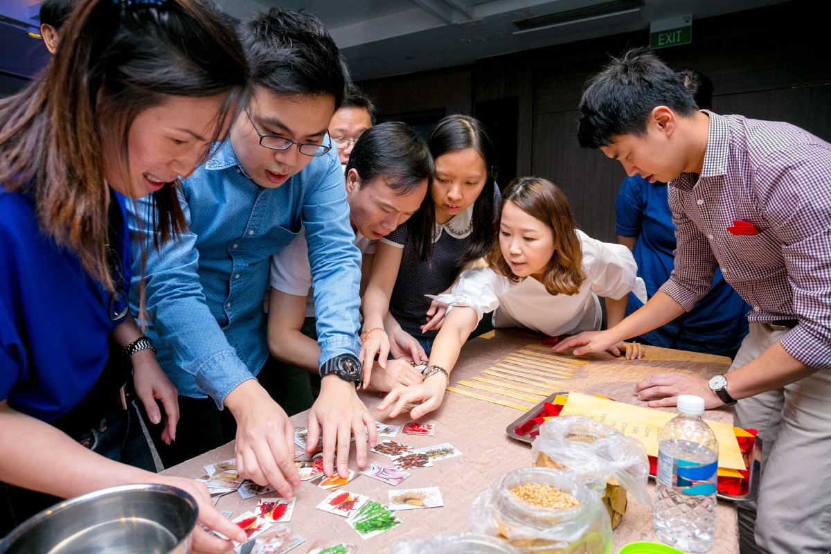 unique team building activities singapore
